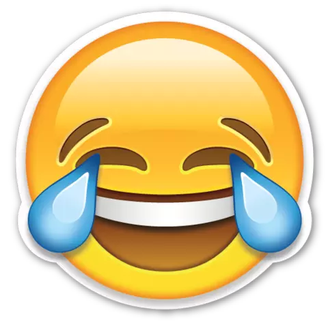 Face With Tears Of Joy Emoji Png PNG Image
