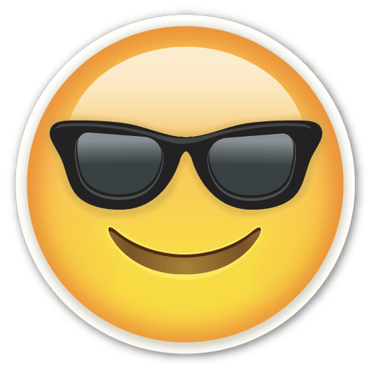Emoticon Sunglasses Smiley Villain Emoji With Icon PNG Image