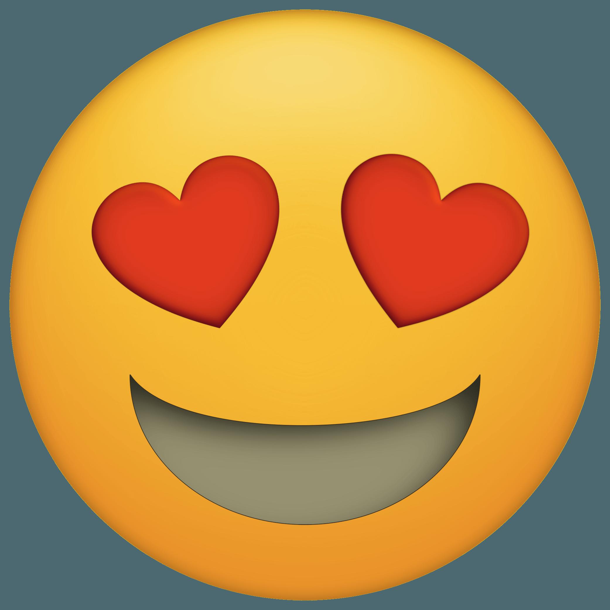 Download Emoticon Heart Emojis Eye Emoji PNG Download Free ...