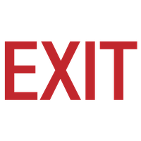 Exit Picture PNG Image
