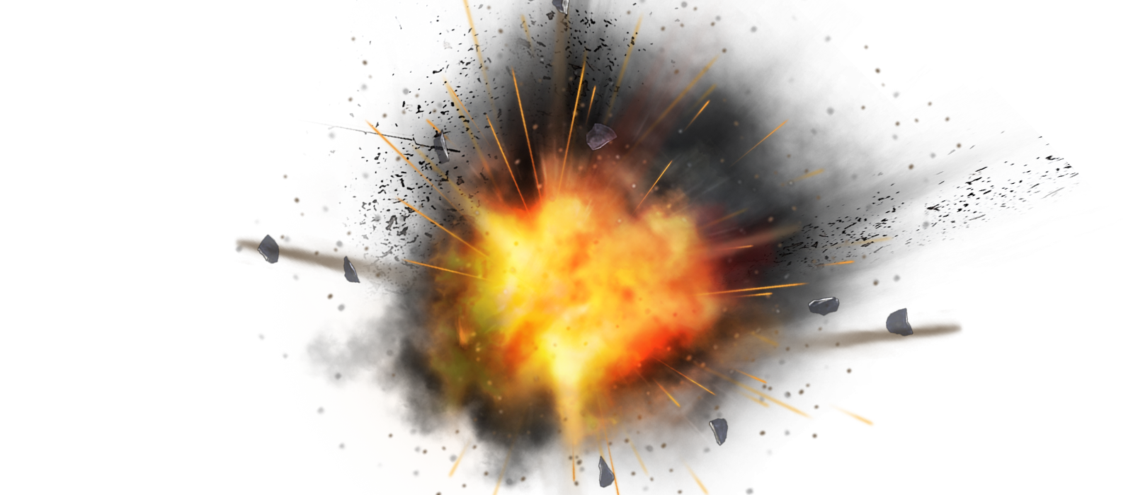 Atomic Explosion Transparent Background PNG Image