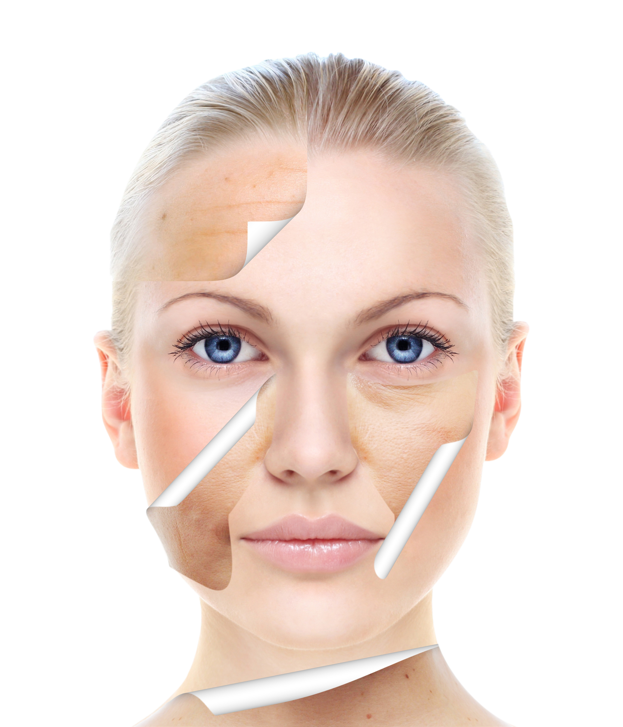 Head Beauty Up Skin Close Care PNG Image