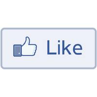 Facebook Like Transparent Image PNG Image