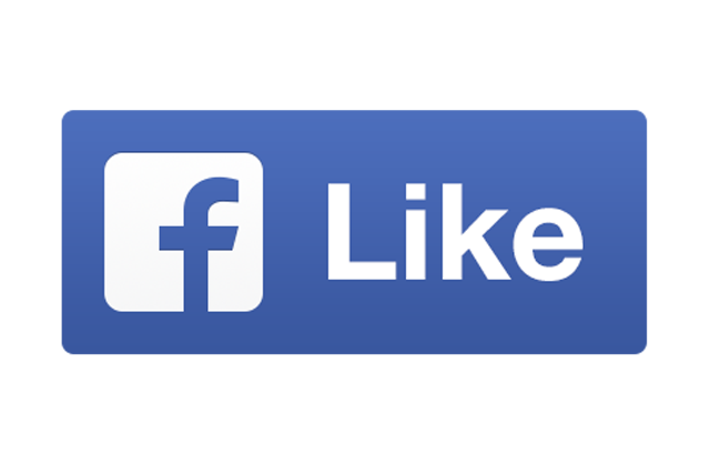 Facebook Like Transparent Background PNG Image