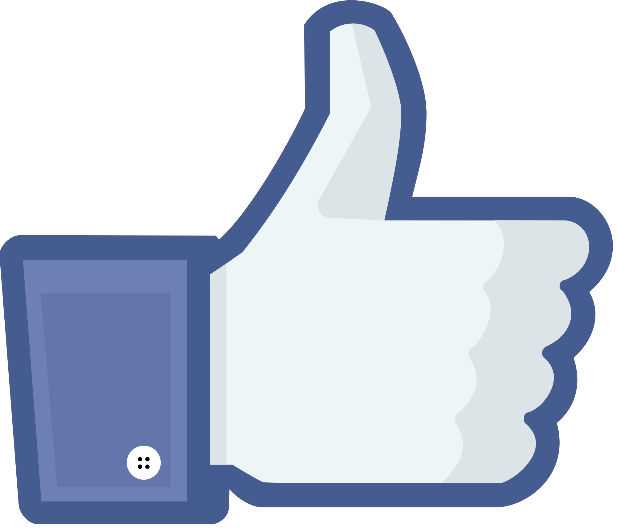 Facebook Like Clipart PNG Image