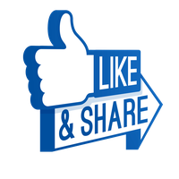 Facebook Like File PNG Image