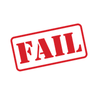 Fail Stamp Picture PNG Image