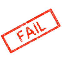 Fail Stamp Png Clipart PNG Image