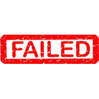 Fail Stamp Png Image PNG Image
