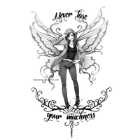 Fairy Tattoos Png PNG Image