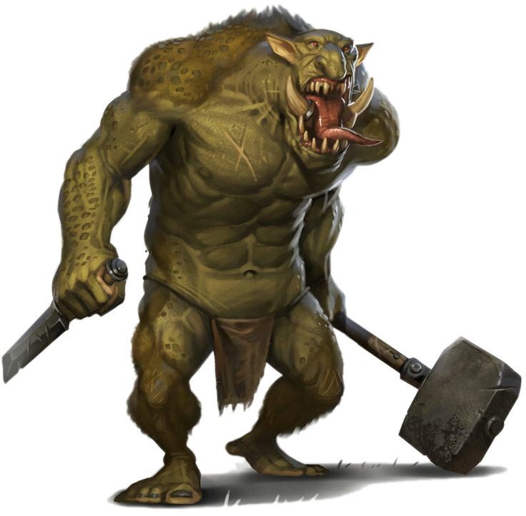 Troll Mythical Monster Minotaur Organism Creature PNG Image