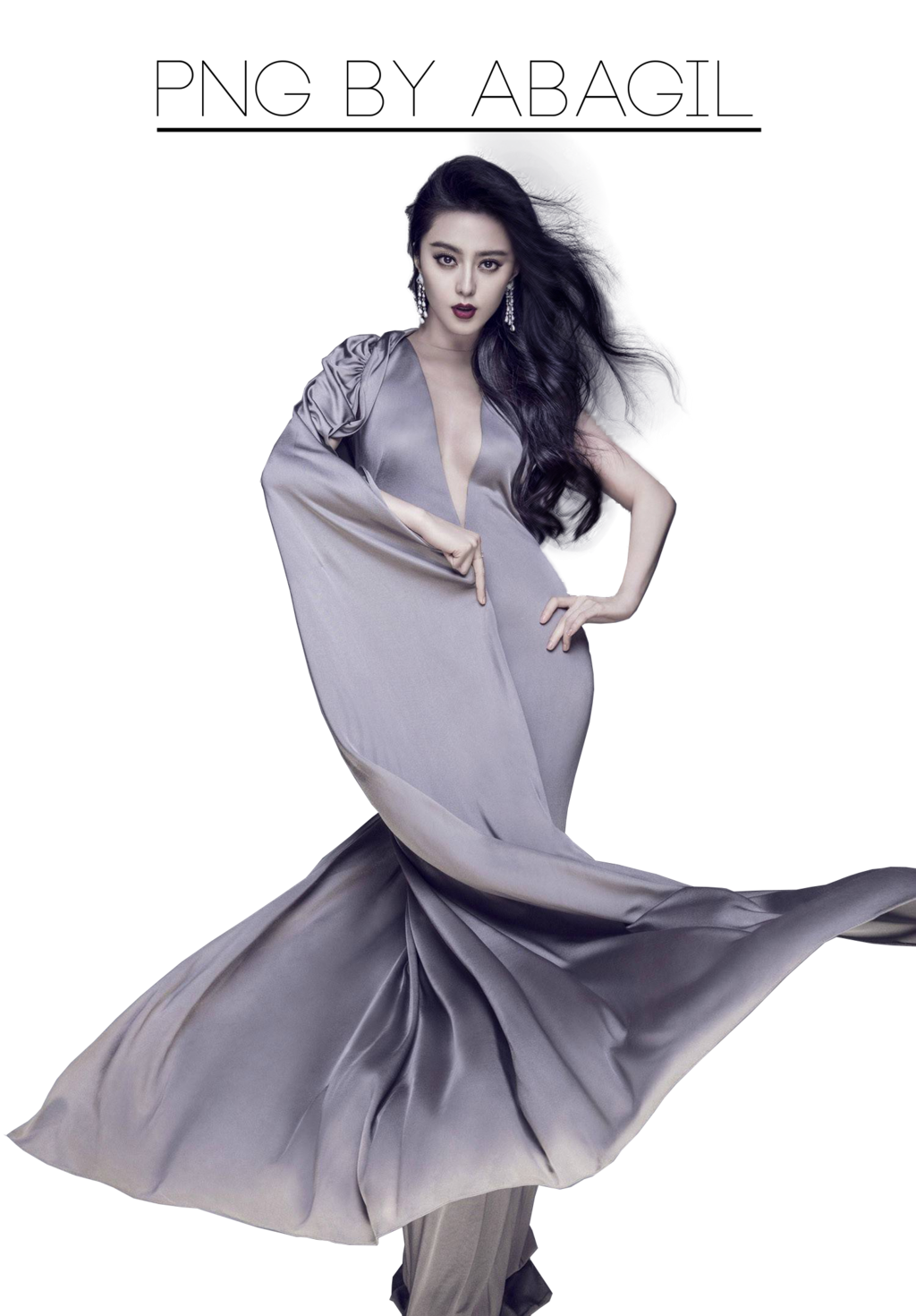 Fan Bingbing Transparent Background PNG Image