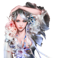 Fantasy Girl Transparent PNG Image