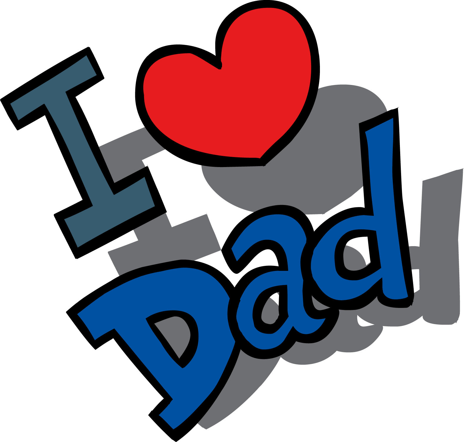 Fathers Day File PNG Image