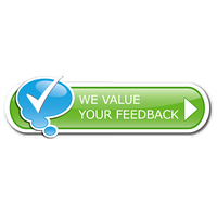 Feedback Button Clipart PNG Image