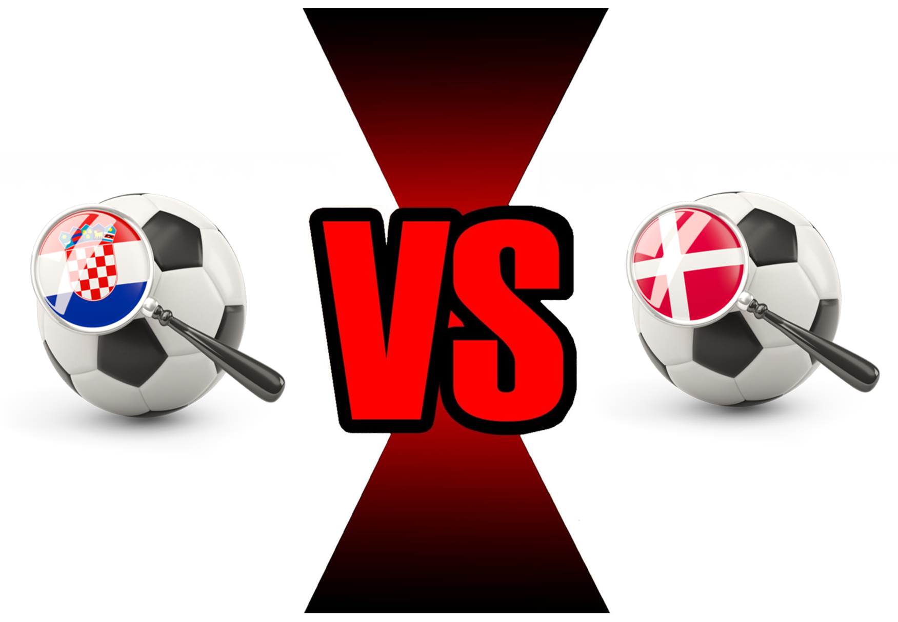 Fifa World Cup 2018 Croatia Vs Denmark PNG Image
