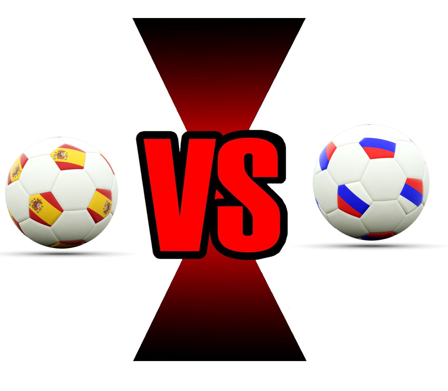 Fifa World Cup 2018 Spain Vs Russia PNG Image