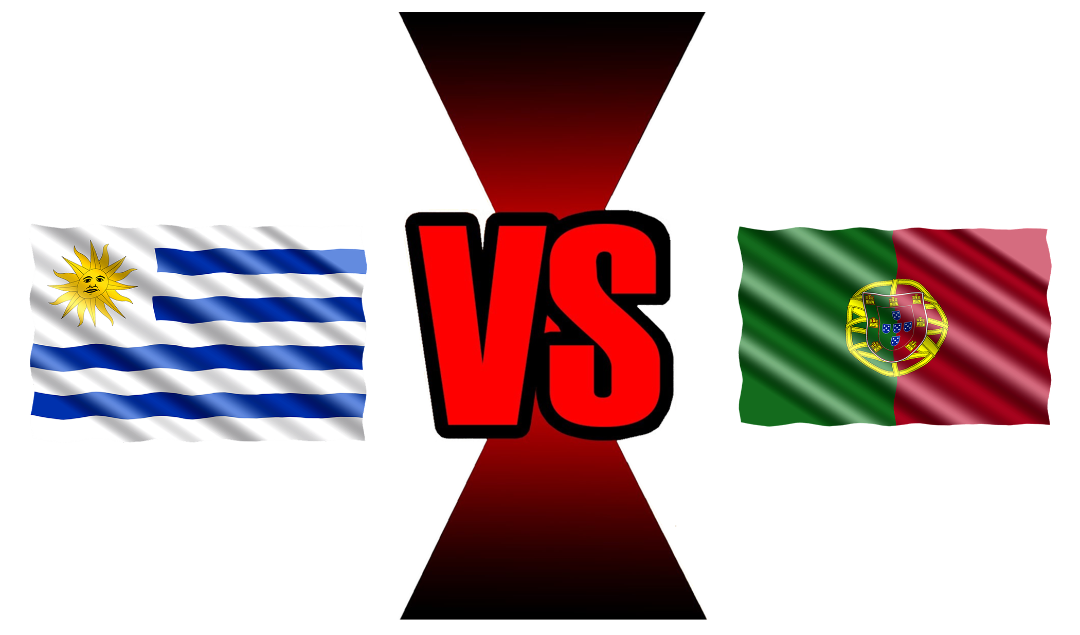Fifa World Cup 2018 Uruguay Vs Portugal PNG Image