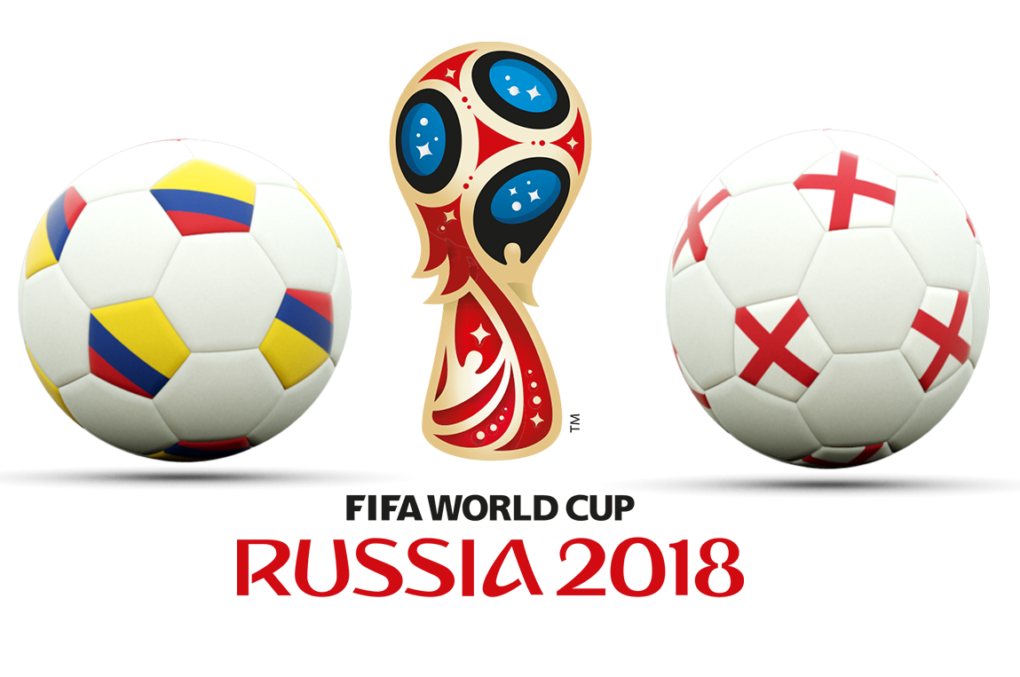 Fifa World Cup 2018 Colombia Vs England PNG Image