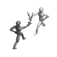 Fight Transparent Background PNG Image