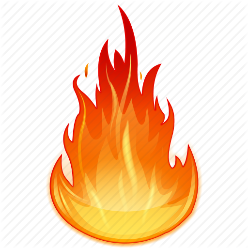 Fire Flame Clipart PNG Image