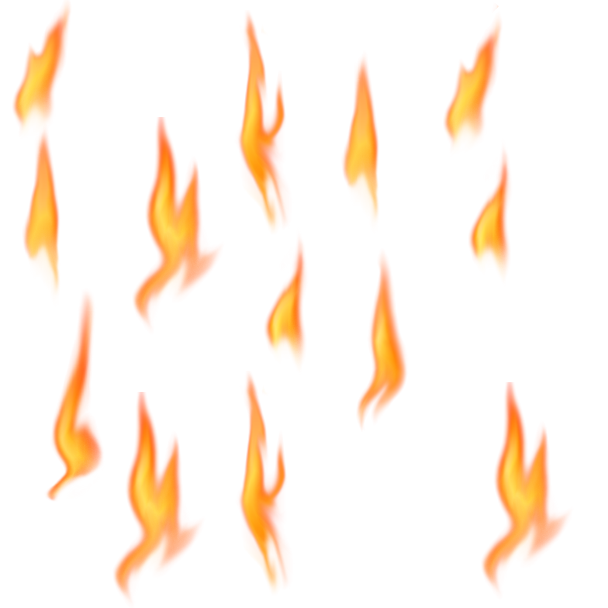 Fire Flames Transparent PNG Image