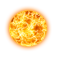 Fireball Transparent Background PNG Image