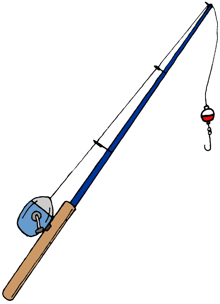 Fishing Pole Picture PNG Image