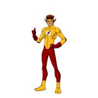 Kid Flash Transparent Image PNG Image