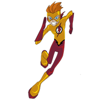 Kid Flash Transparent PNG Image