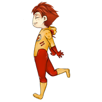Kid Flash PNG Image