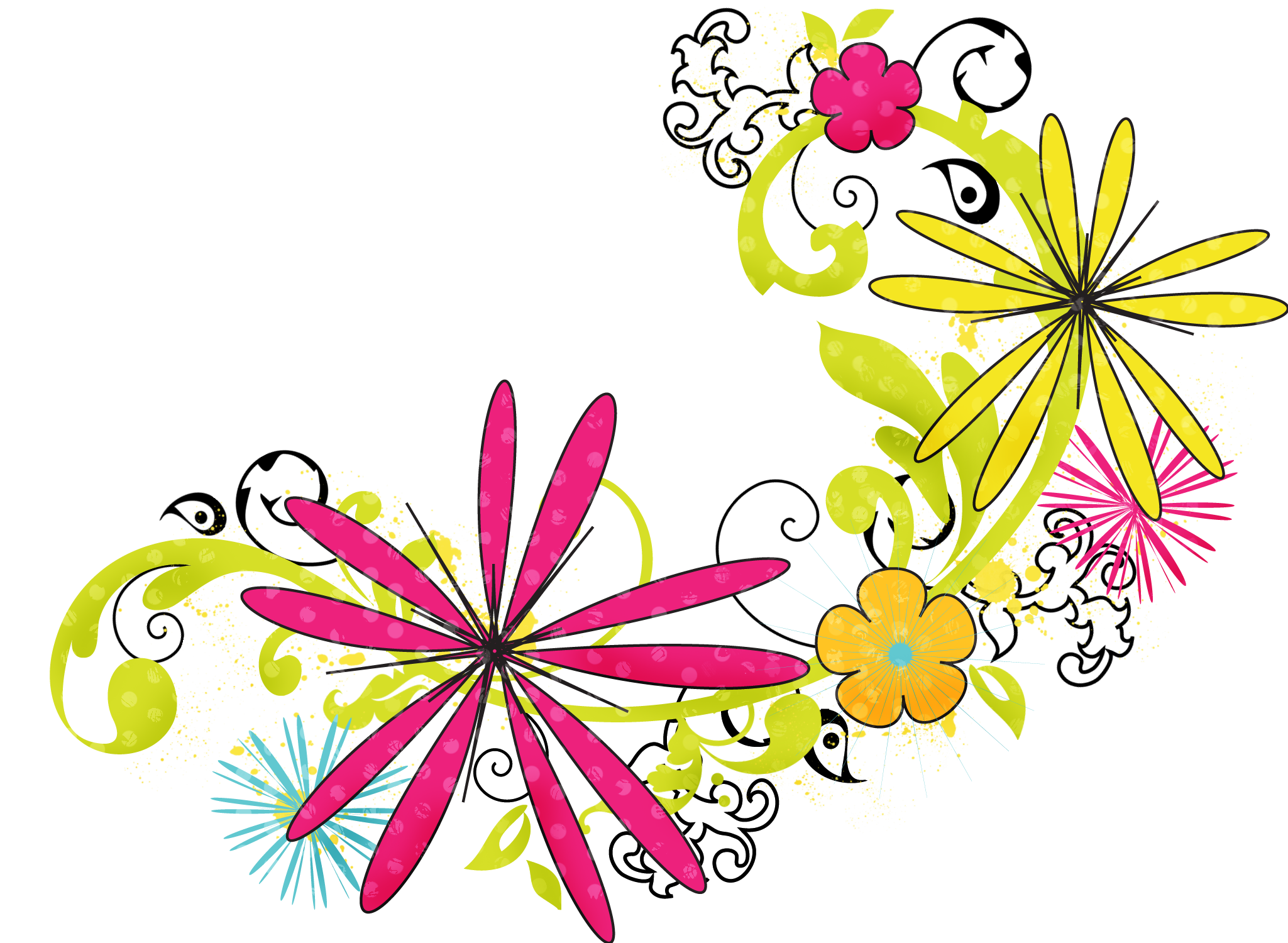 Floral Png Hd PNG Image