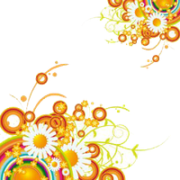 Abstract Flower Png PNG Image