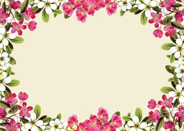 Pink Picture Flower Frame Wedding Photos Invitation PNG Image