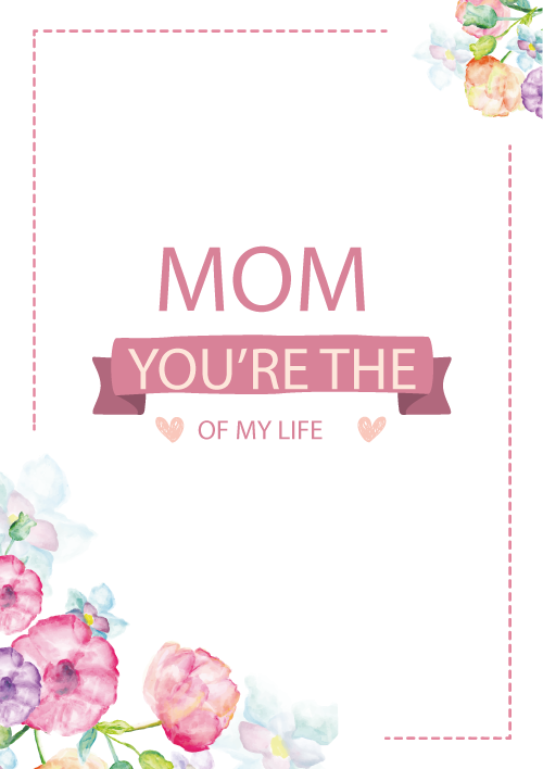 Greeting Paper Euclidean Vector Mom Mother Cards PNG Image
