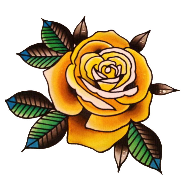 Flower Tattoo Picture PNG Image