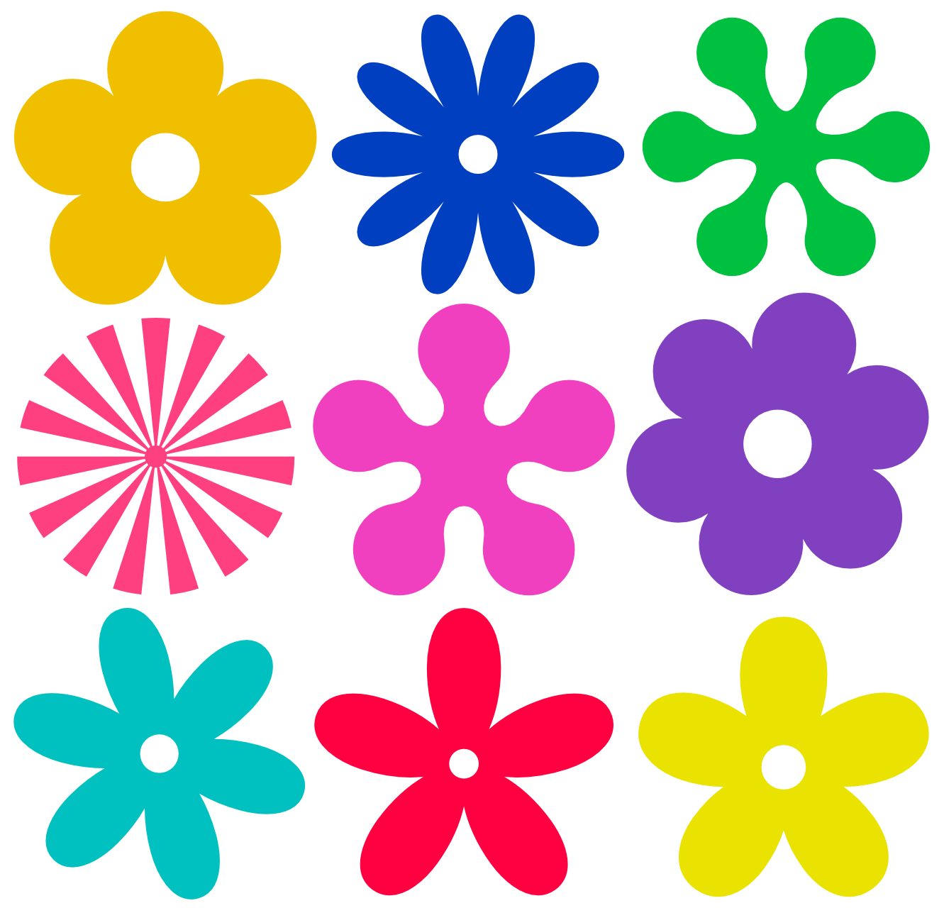 Flowers Vectors Png File PNG Image