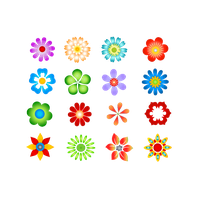 Flowers Vectors Png Image PNG Image
