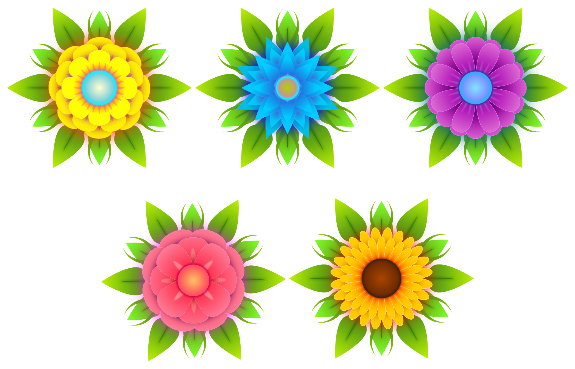 Flowers Vectors Free Download Png PNG Image