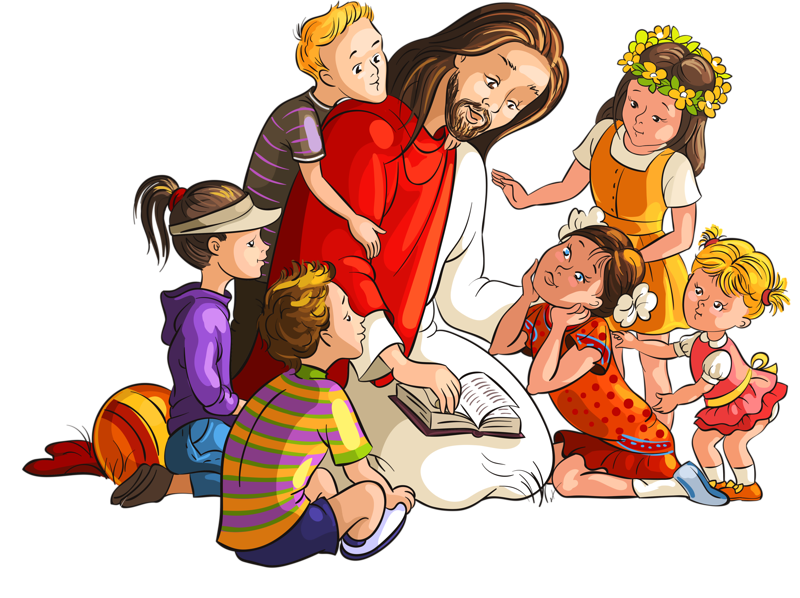 Illustration Jesus Child Stock Cartoon Preach PNG Image