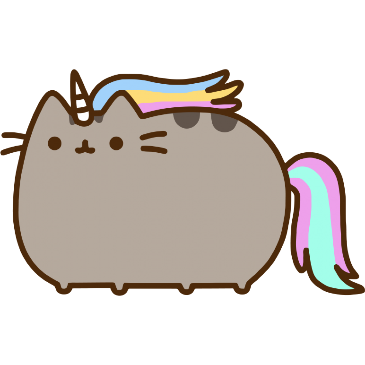 Food Snout Gund Pusheen Cat PNG Image High Quality PNG Image