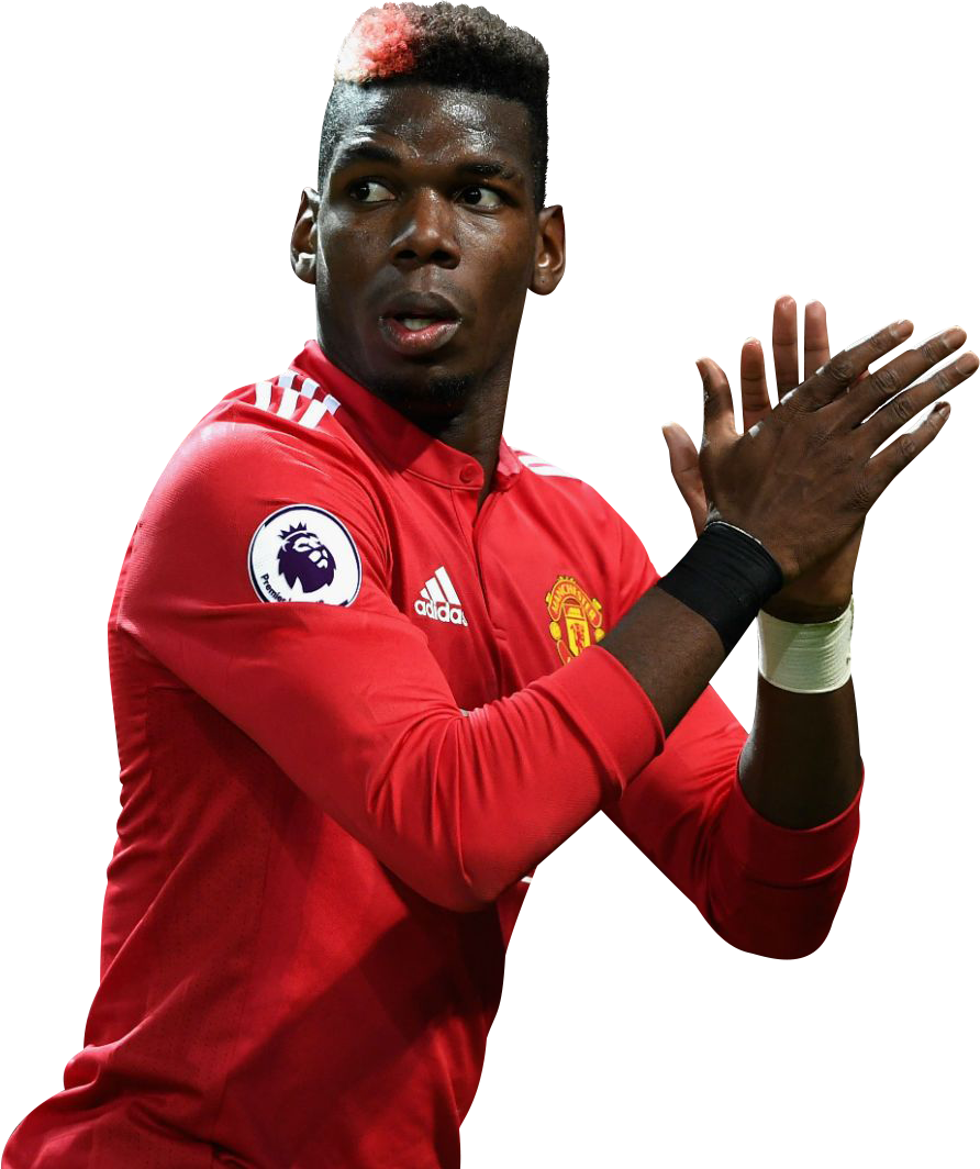 Pogba United Cup Football Player Fc Manchester PNG Image