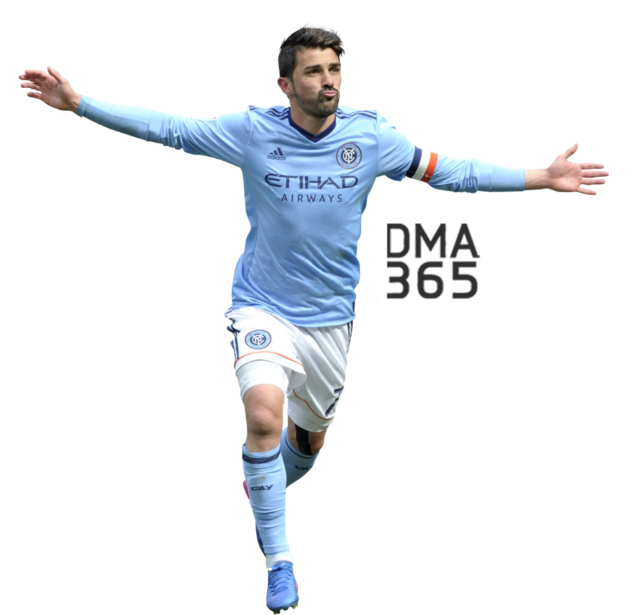 David Villa Transparent Image PNG Image