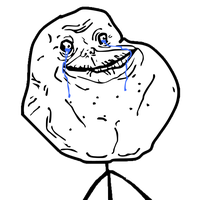 Forever Alone Png PNG Image
