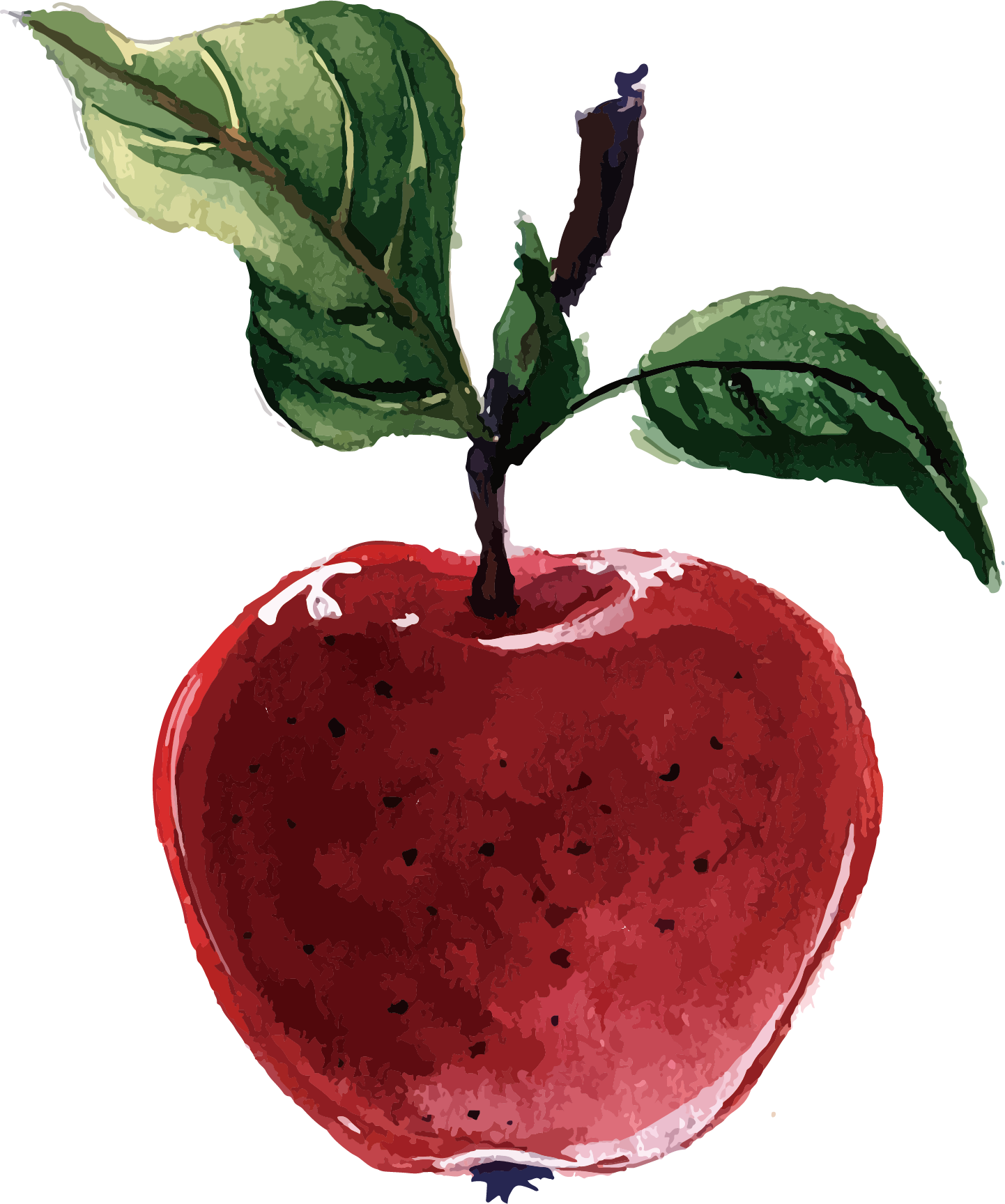 Plant-Based Illustrator Apple Packs Diet Vector Adobe PNG Image