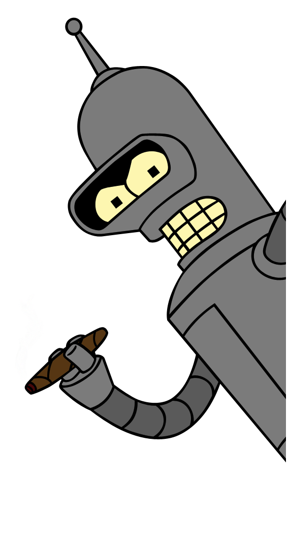 Bender Transparent PNG Image