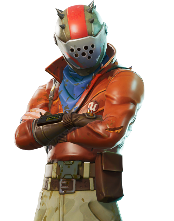 Mercenary One Royale Figurine Fortnite Battle Xbox PNG Image