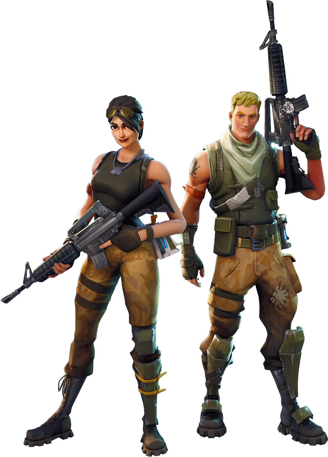 Army Soldier Royale Game Fortnite Battle PNG Image