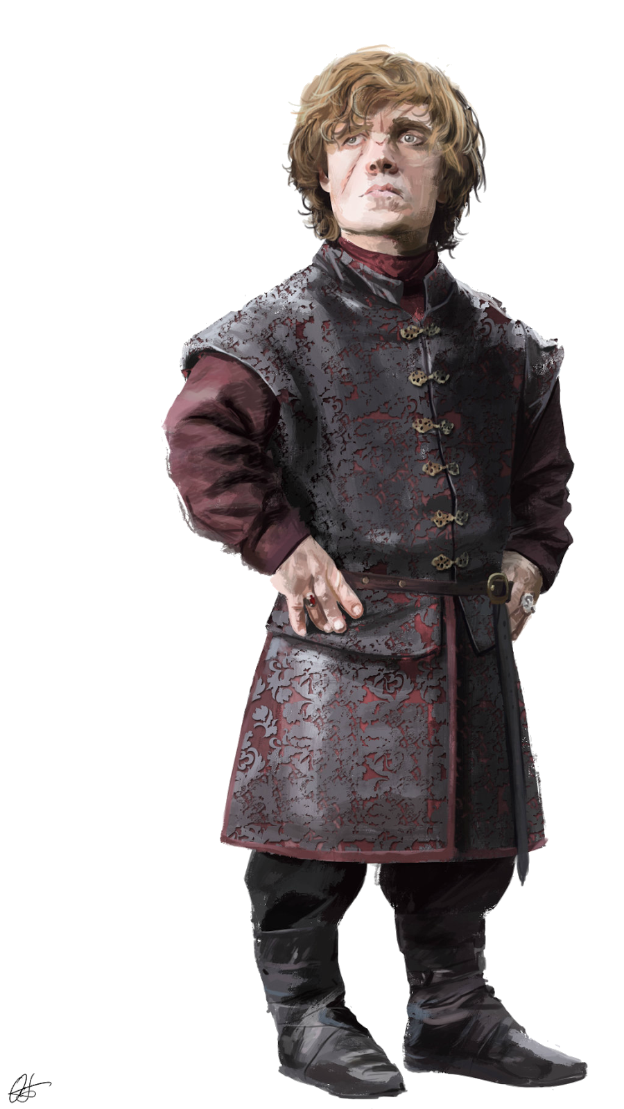 Standing Winter Thrones Of Game Lannister Tyrion PNG Image