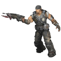 Marcus Fenix Free Download PNG Image